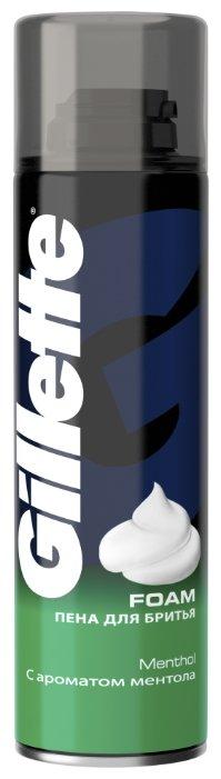 Пена для бритья Menthol c ароматом ментола Gillette