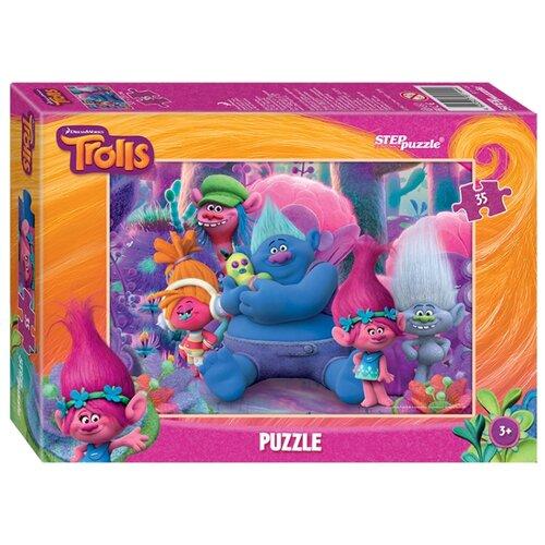 Фото - Пазл Step puzzle DreamWorks Trolls (91144), 35 дет. пазл step puzzle dreamworks trolls 94056 160 дет