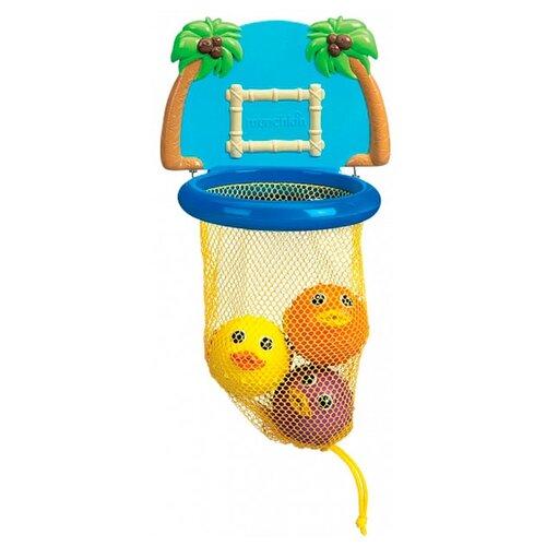 Купить Игрушка для ванной Munchkin Баскетбол (11123) разноцветный, Игрушки для ванной