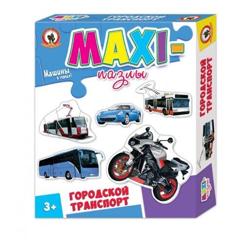Купить Набор пазлов Русский стиль Городской транспорт (03521), Пазлы