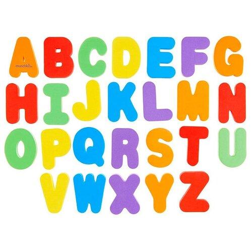 Набор для ванной Munchkin Буквы и цифры (11108) разноцветныйИгрушки для ванной<br>