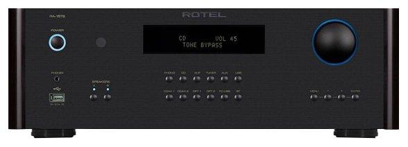 Интегральный усилитель Rotel RA-1572 black фото 1
