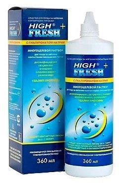 Раствор Esoform High Fresh+ с гиалуронатом натрия
