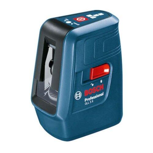Лазерный уровень самовыравнивающийся BOSCH GLL 3 X Professional (0601063CJ0) уровень bosch gll 3 80c 15м 0601063r00
