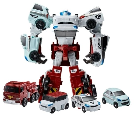Робот-трансформер YOUNG TOYS Tobot Mini Кватран 301057