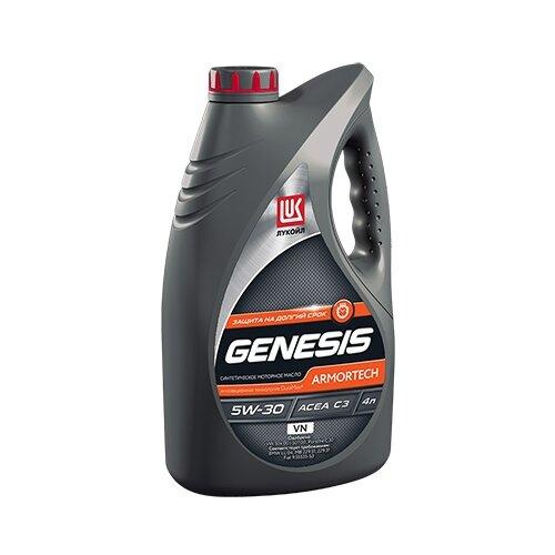 Моторное масло ЛУКОЙЛ Genesis Armortech VN 5W-30 4 л моторное масло лукойл genesis armortech fd 5w 30 4 л