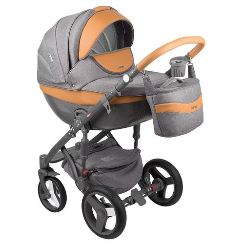Купить Универсальная коляска Adamex Monte Carbon (3 в 1) D20, Коляски