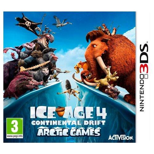 Игра для Nintendo 3DS Ice Age 4: Continental Drift игра для nintendo 3ds miitopia