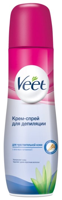 Veet Крем-спрей для депиляции для чувствительной кожи