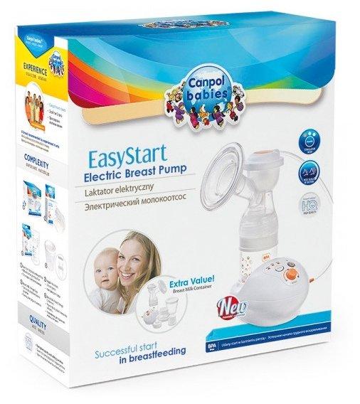 Электрический молокоотсос Canpol Babies EasyStart 12/201