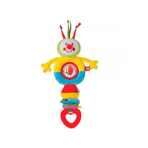 Купить Подвесная игрушка Happy Baby Гусеница (330362) желтый/голубой/красный, Подвески