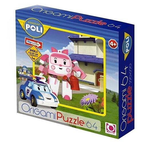 Пазл Origami Robocar Poli (05901), 64 дет., Пазлы  - купить со скидкой