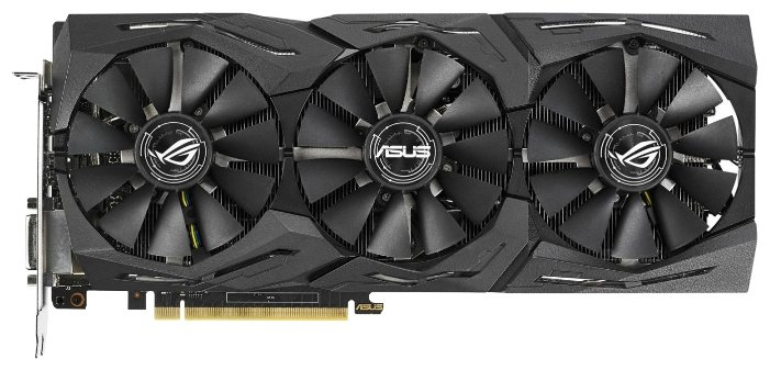 Видеокарта ASUS GeForce GTX 1070 Ti 1607MHz PCI-E 3.0 8192MB 8008MHz 256 bit DVI 2xHDMI HDCP Strix Gaming Advanced edition