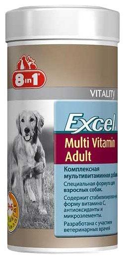 Добавка в корм 8 In 1 Excel Multi Vitamin Adult для взрослых собак,