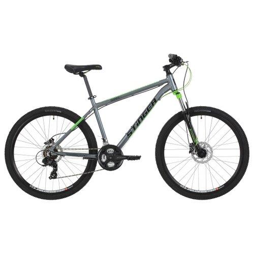 Горный (MTB) велосипед Stinger Graphite Evo 27.5 (2018) серый 16 (требует финальной сборки)Велосипеды<br>