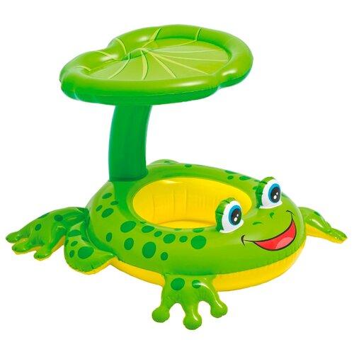 Надувные водные ходунки Intex Лягушка 56584 зеленый/желтый