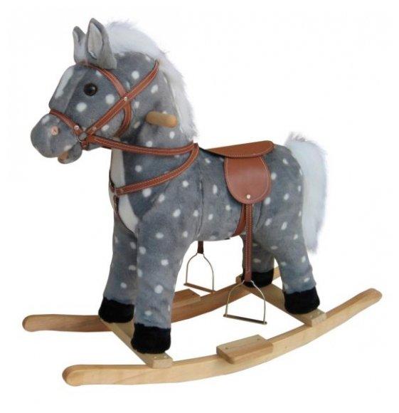Качалка Shantou Gepai Лошадь в яблоках (611036) со звуковыми эффектами