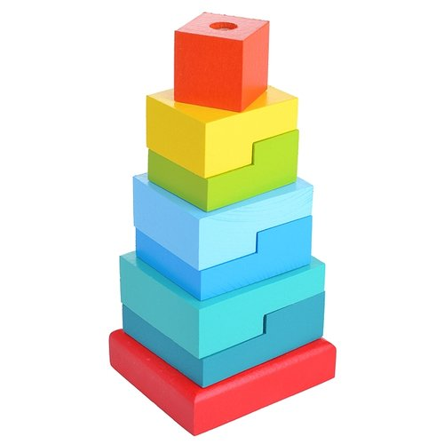 Пирамидка Alatoys Ступеньки (8 деталей)Пирамидки<br>