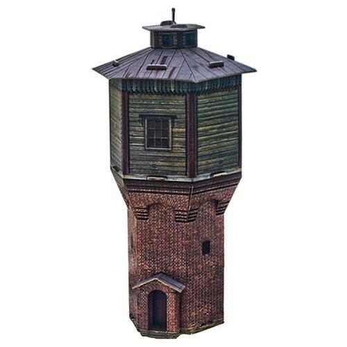 Сборная модель Умная Бумага Водонапорная башня (280) 1:87 сборная модель умная бумага двухосная цистерна 25 м3 нефть черная 386 2 1 87