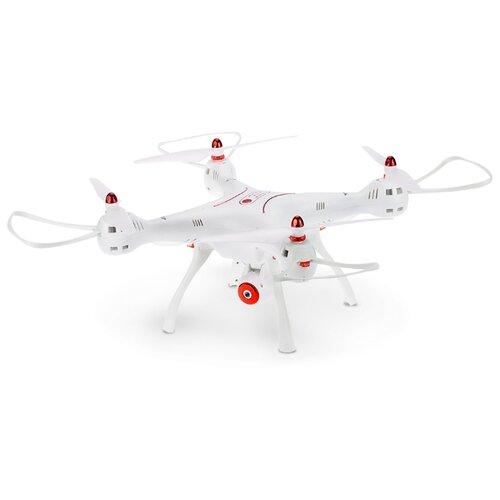 Квадрокоптер Syma X8SW белый квадрокоптер syma x8sw d