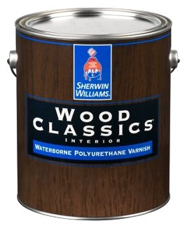 Лак Sherwin-Williams Wood Classics Waterborne Polyurethane Varnish Глянцевый (3.8 л.)