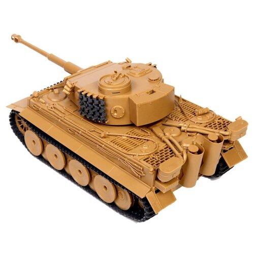 Сборная модель ZVEZDA Немецкий тяжелый танк Т-VI Тигр (3646PN) 1:35 сборная модель звезда zvezda советский тяжелый танк т 35 5061