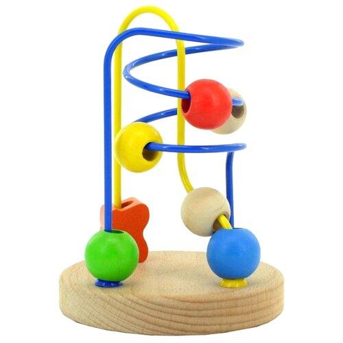 Лабиринт Мир деревянных игрушек № 5 бежевый бизиборд мир деревянных игрушек