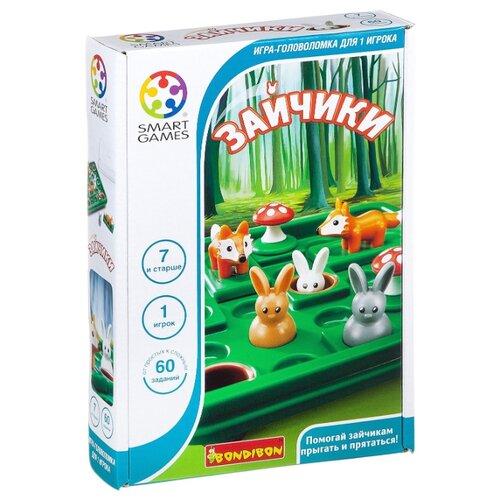Купить Головоломка BONDIBON Smart Games Зайчики (BВ2185), Головоломки