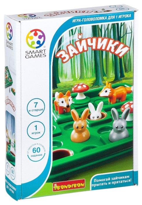 Головоломка BONDIBON Smart Games Зайчики (BВ2185)