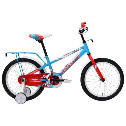 цена на Детский велосипед FORWARD Meteor 18 (2018) бирюзовый (требует финальной сборки)