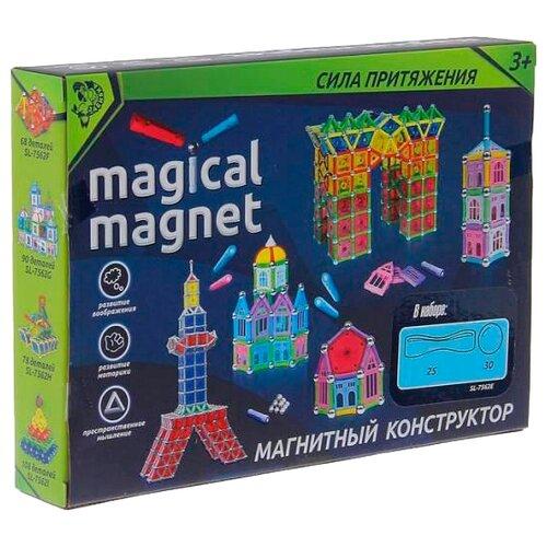 Магнитный конструктор Zabiaka Magical Magnet 1387371-90 Сказочный замок
