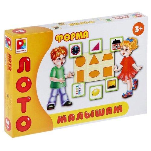 Настольная игра Радуга Лото малышам. Форма С-909