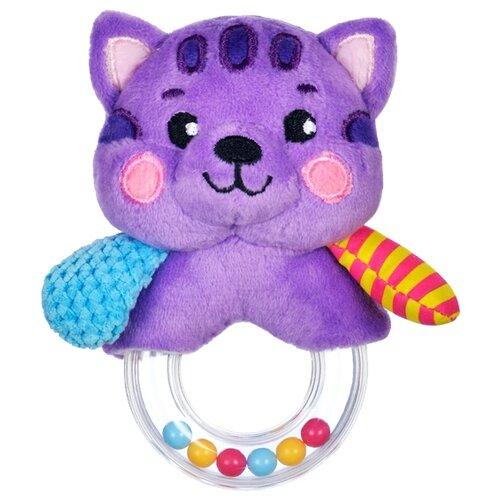 Купить Погремушка Жирафики Котик 939508 фиолетовый, Погремушки и прорезыватели