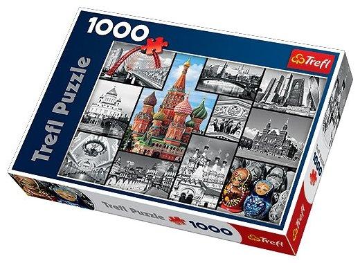 Пазл Trefl Москва коллаж (10380), 1000 дет.