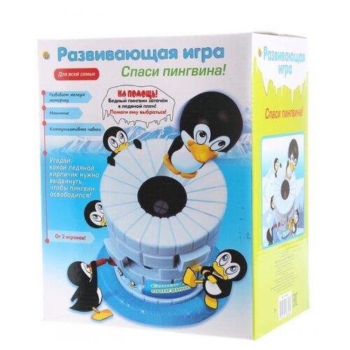 Настольная игра Рыжий кот Спаси пингвина ИН-8892Настольные игры<br>