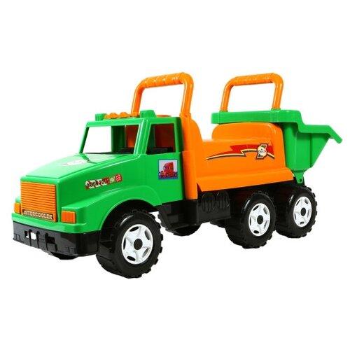 Купить Каталка-толокар Orion Toys МАГ (211) зеленый/оранжевый, Каталки и качалки