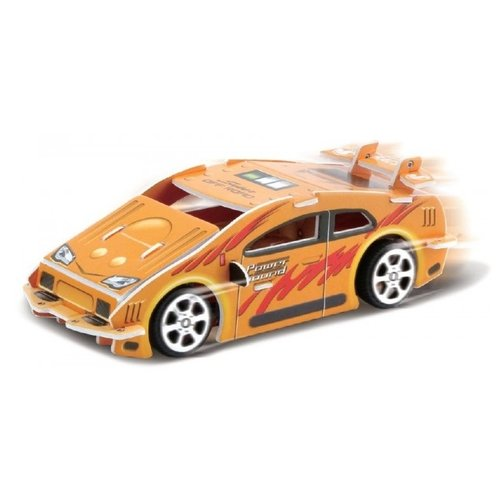 3D-пазл Pilotage 3D Спортивная машина оранжевая (RC38102), 21 дет. машина радиоуправляемая pilotage topracer xb