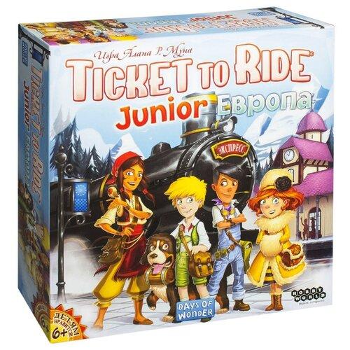 цена на Настольная игра HOBBY WORLD Ticket to Ride Junior: Европа