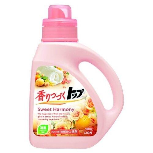 Жидкость Lion Top Sweet Harmony аромат цветов и апельсина (Япония), 0.9 л, бутылка