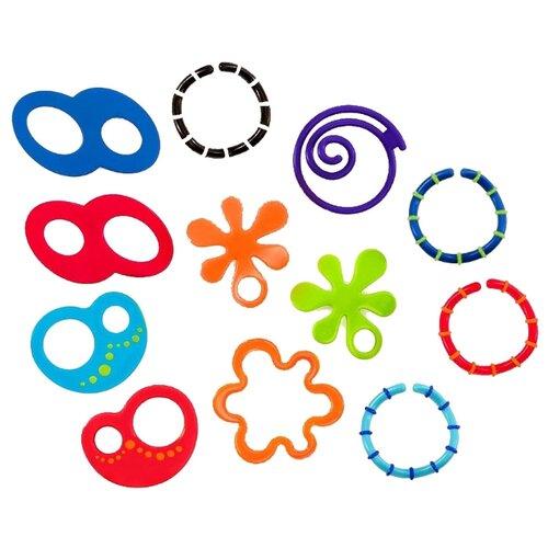 Набор Oball Забавные колечки разноцветныйПогремушки и прорезыватели<br>