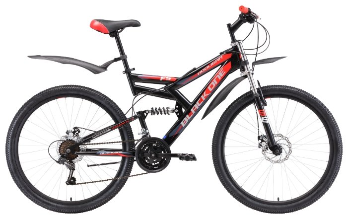 Горный (MTB) велосипед Black One Hooligan FS 26 D (2018)
