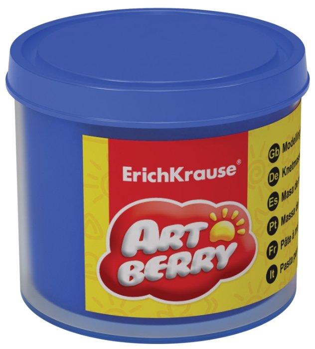 Пластилин ErichKrause Artberry синий на растительной основе 100 г (37036)