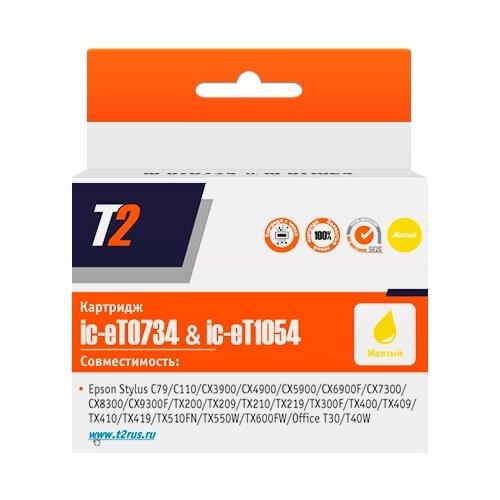 Картридж T2 IC-ET0734/IC-ET1054, совместимый картридж t2 cb324he 178xl ic h324
