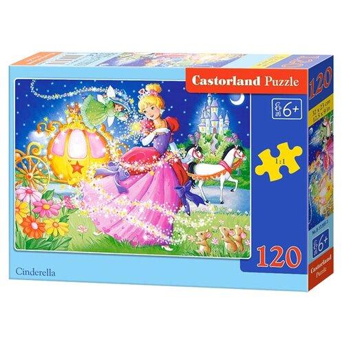 Купить Пазл Castorland Cinderella (B-13395), элементов: 120 шт., Пазлы