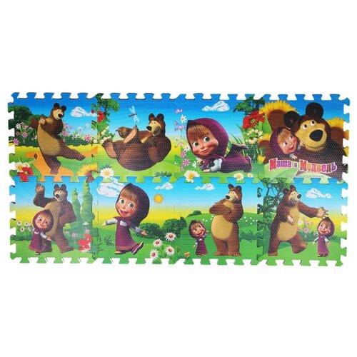 Коврик-пазл Играем вместе Маша и Медведь (FS-MM) коврик пазл 10 элементов играем вместе fs a 10