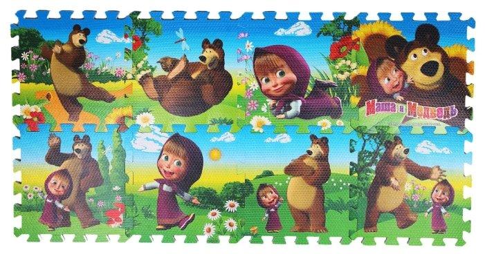 Коврик-пазл Играем вместе Маша и Медведь (FS-MM)