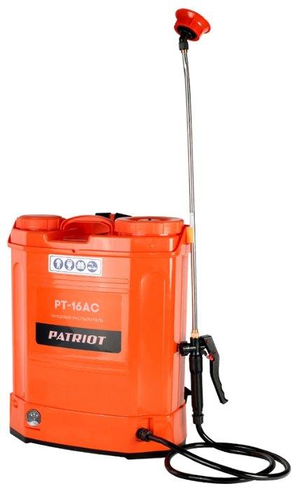 Аккумуляторный опрыскиватель PATRIOT PT-16AC