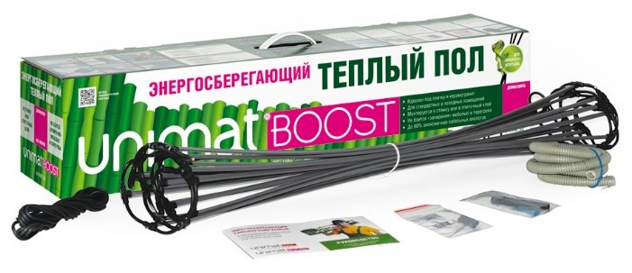 Нагревательный мат Unimat BOOST-0100 133Вт