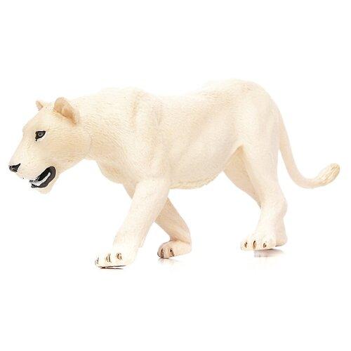 Фигурка Mojo Wildlife Белая львица 387207
