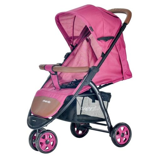 Прогулочная коляска everflo E-450 Racing pink коляска прогулочная everflo racing grey e 450 пп100004019